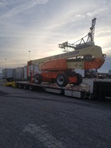 Manlifts from the USA to Kazakhstan – LIVO LOGISTICS